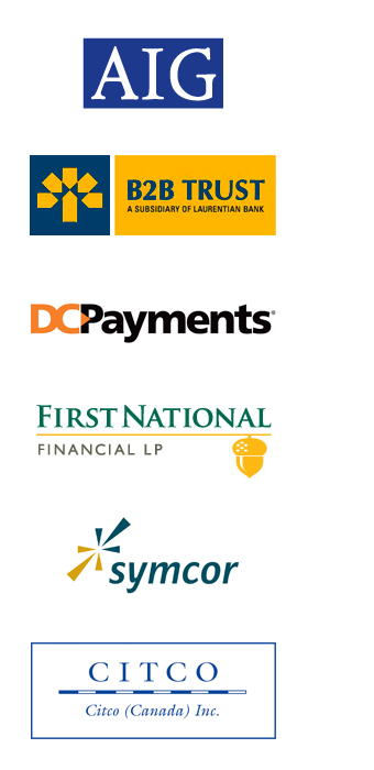 RainMaker Satisfied Clients inlcude AIG, B2B Trust, DC Payments, First National, Symcor, Citco